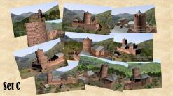 Postkarten mit 10 verschiedenen Motiven des Steinenschloss (1150) im Set (Preisvorteil) und in brillianter Foto-Qualität.  Gewähltes Format: XXL-Format (21 x 12