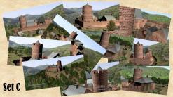 Postkarten mit 10 verschiedenen Motiven des Steinenschloss (1150) im Set (Preisvorteil) und in brillianter Foto-Qualität.  Gewähltes Format:  Panorama-Format (21 x 10 cm)