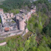 Altdahn zählt zu den Felsenburgen.