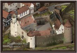 Burgrekonstruktion von Neuleiningen (1620)