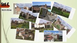 Set C mit 10 Postkarten mit Motiven der Burg Neuleiningen (1620) im Set (Preisvorteil) und in brillianter Foto-Qualität im XXL-Format (21 x 12