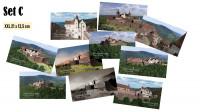 Postkarten mit 10 verschiedenen Motiven der Madenburg (1595) im Set (Preisvorteil) und in brillianter Foto-Qualität.  Gewählte Größe: XXL-Format (21 x 12
