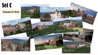 Postkarten mit 10 verschiedenen Motiven der Madenburg (1595) im Set (Preisvorteil) und in brillianter Foto-Qualität.  Gewählte Größe:  Panorama-Format (21 x 10 cm)