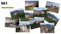 Postkarten mit 10 verschiedenen Motiven der Madenburg (1595) im Set (Preisvorteil) und in brillianter Foto-Qualität. Gewählte Größe: Standard (DIN A6).