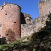 Doppelbatterieturm der Burg Neudahn aus der Mitte des 16. Jh.