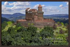 Rekonstruktion der Burg Gräfenstein des Jahres 1520