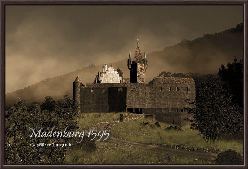 Burgrekonstruktion der Madenburg (1595)