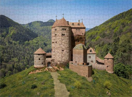 Neudahn (1535) Feldseite - Ravensburger-Puzzle 500 Teile
