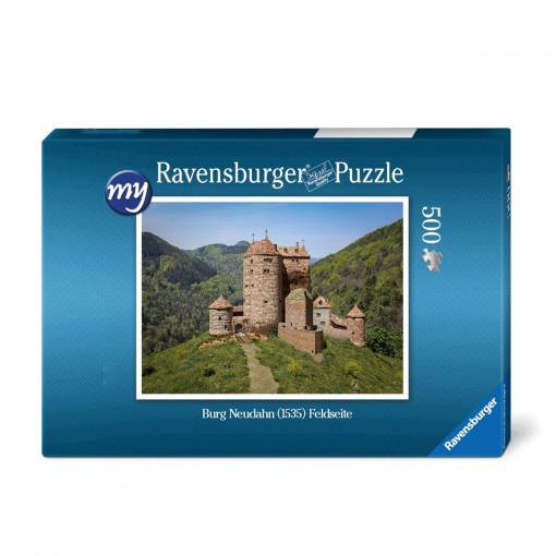 Für den Einsteiger: Puzzeln Sie die fotorealistische Rekonstruktion der Kanonenburg Neudahn um 1535. Sie erhalten ein qualitätsvolles Ravensburger-Puzzle (500 Teile). Maße des fertigen Puzzles: 43