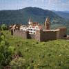 Befestigtes Renaissanceschloss Madenburg (1595) aus Nordosten - Ravensburger-Puzzle 500 Teile