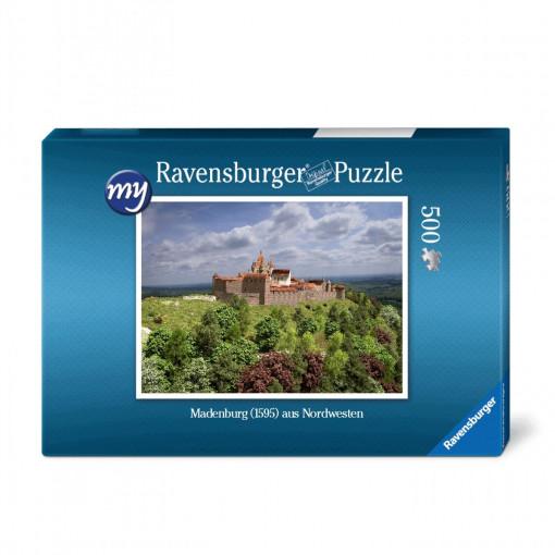 Hauptbefestigungen der Madenburg (1595) aus Nordwesten - Ravensburger-Puzzle 500 Teile