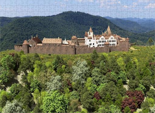 Madenburg (1595) in voller Ausdehnung aus Osten - Ravensburger-Puzzle 500 Teile