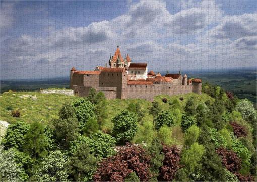 Hauptbefestigungen der Madenburg (1595) aus Nordwesten - Puzzle 1.000 Teile