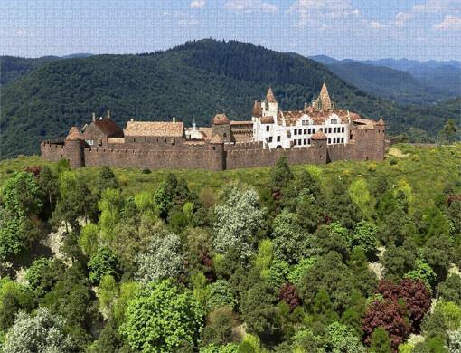 Hauptbefestigungen der Madenburg (1595) aus Osten - Ravensburger-Puzzle 2.000 Teile