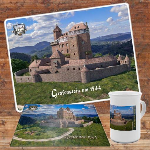 Frühstücksset (Bundle) mit Burg Gräfenstein