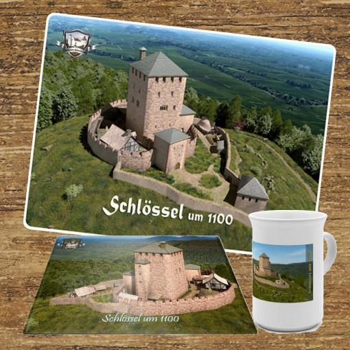 Frühstücksset (Bundle) mit Burg Schlössel