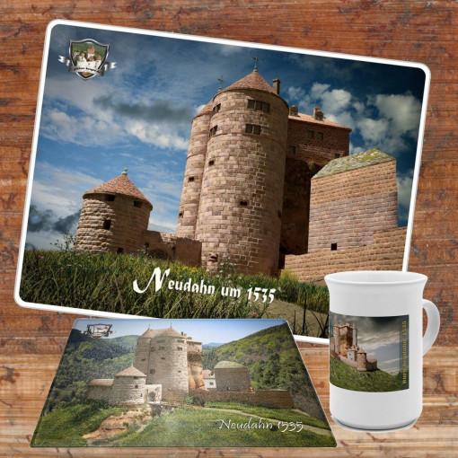 Frühstücksset (Bundle) mit Burg Neudahn