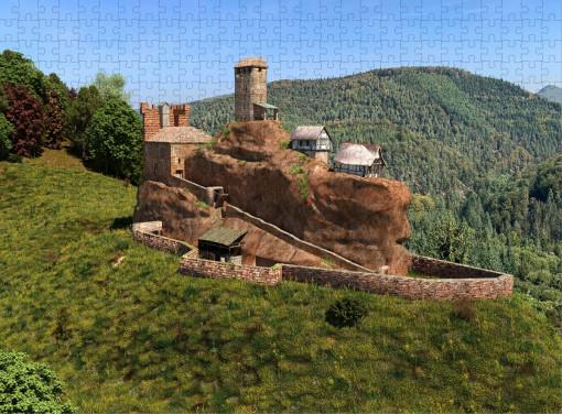 Puzzle Burg Blumenstein