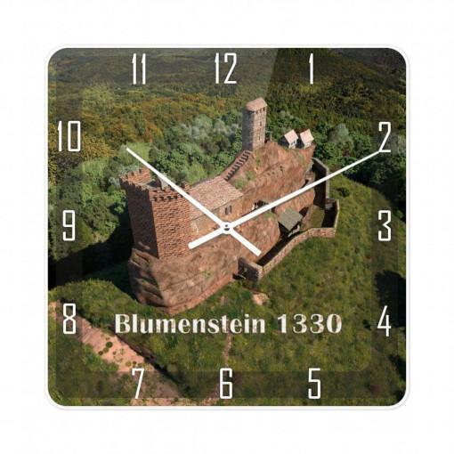 Wanduhr Blumenstein (1330) Südwestansicht