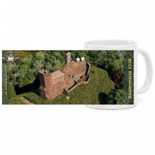 """Fototasse """"Panorama"""" - Burg Blumenstein (1330)"""