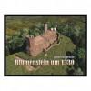 Burg Blumenstein Fußmatte 80x60cm