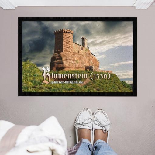 Burg Blumenstein Fußmatte 60x40cm