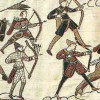 Waffen_Bogenschützen-Teppich_v_Bayeux_1100px